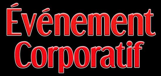 evenement corporatif